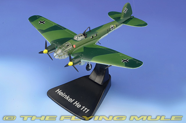 He 111P-4 1:144 Diecast Model - Atlas Editions AE-4646-103