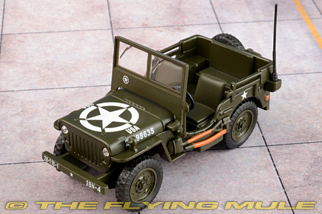 BOXED 1//43 CORGI SOLIDO CENTURY OF CARS COLLECTION WILLYS JEEP