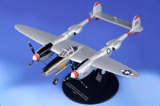 Herpa Wings 580229 P-38J Lightning 432th FS 475th FG 23 Skidoo 1//72 Scale