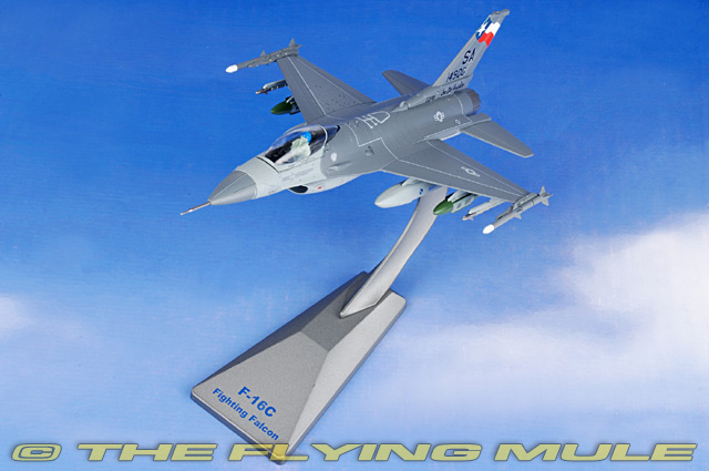 Master Toys /& Novelties US Air Force USAF F-16 Falcon 6.5 Inch Replica Die Cast Toy Grey