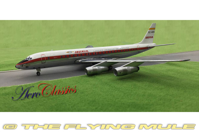 DC-8-52 1:200 Diecast Model - AeroClassics AL-AC19062 - $83 95