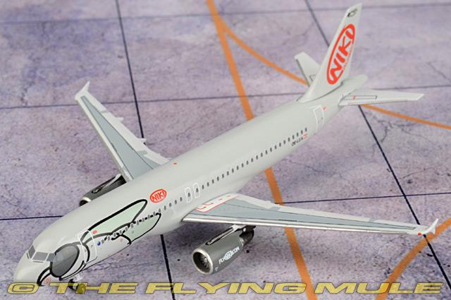 1:400 A320 OE-LEA Fly Nikki