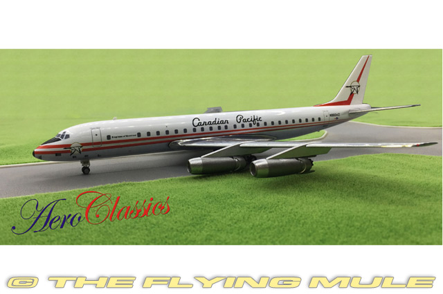 AeroClassics-1-200-DC-8-40-Canadian-Pacific-Airlines-N9604Z-w-Ground-Equipment