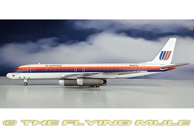 prezzo più economico 1 200 200 200 DC-8-21 N8005U United Airlines  prezzo all'ingrosso e qualità affidabile