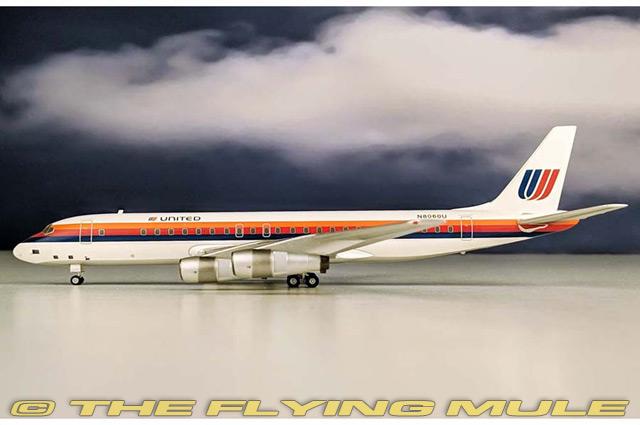 1 200 DC-8-52 N8006U  United Airlines  70% de réduction