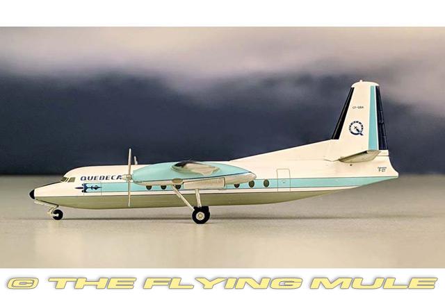 1 200 F27 Friendship CF-QBA Quebecair