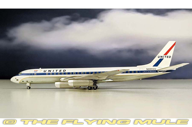 1 200  DC-8-10 N8002U United Airlines  pour vous offrir un shopping en ligne agréable