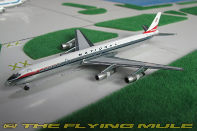 Details about 1:400 DC-8-61 N45090 National Airlines