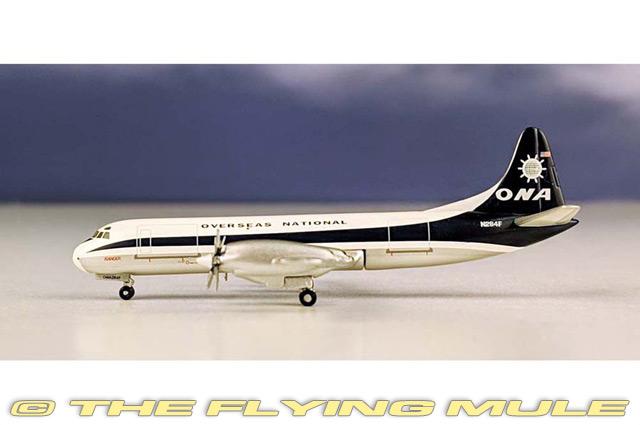 L-188 Electra 1:400 Diecast Model - AeroClassics AL-ACONA040