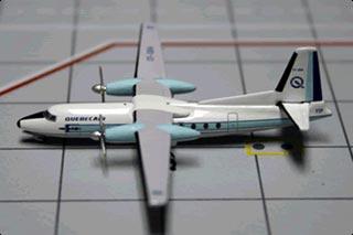 AEROCLASSICS QUEBECAIR F-27 CF-QBA 1:200 Scale AC219418