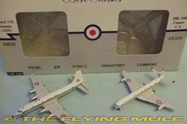 Comando de transporte 1 400 Royal Air Force Britannia y cometa Conjunto de 2 piezas