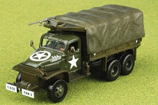 CCKW 2.5 Ton Truck Diecast Model, US Army, Normandy, France, D-Day, June 6th 1944