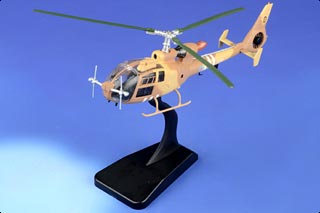 Gazelle AH.Mk 1 Diecast Model, British Army, XZ321, Operation Granby, 1991 - JAN RE-STOCK