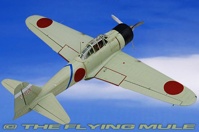 Mitsubishi Hiroyoshi Nishizawa 1:72 A6M Zero-Sen//Zeke