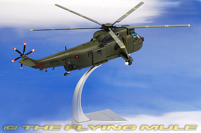 King County Sales Tax >> Corgi AA33418 - SH-3 Sea King Diecast Model, RNFAA No.846 NAS, Kandahar, Afghanistan, 2008