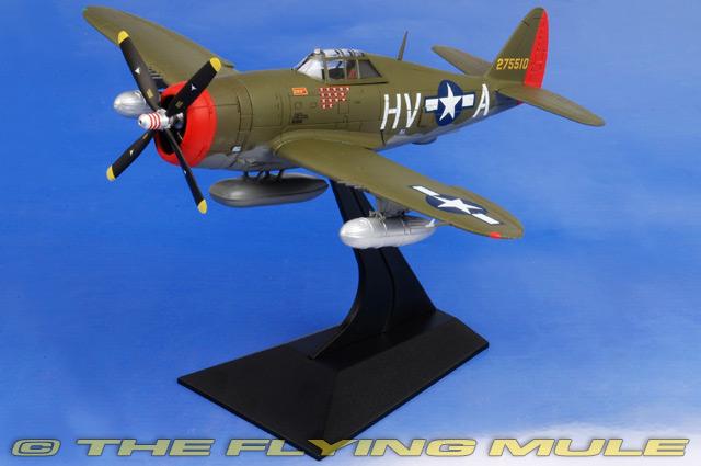Forces of Valor Republic P-47D Thunderbolt Diecast USAAF 56th FG Gabby Gabreski