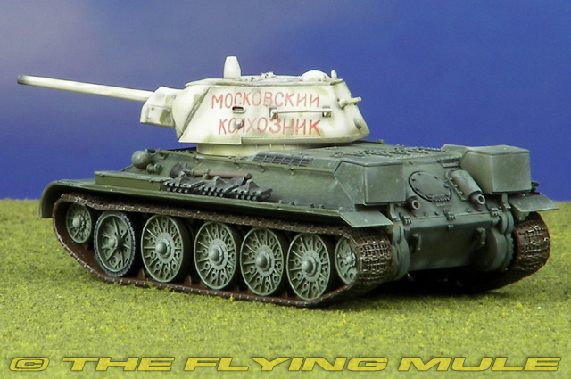 Easy Model WWII Russian T-34//76 Tank 1942 Green 1//72 Finished Tank Model Non diecast