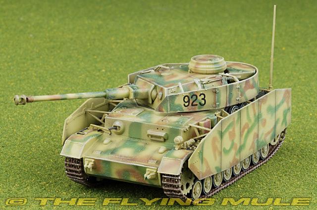 Sd Kfz 161 Panzer IV H 1:72 Display Model - Dragon Models DM