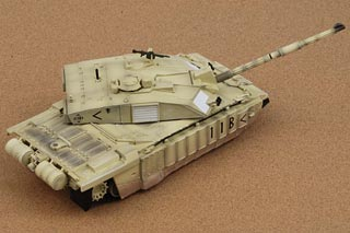 Challenger 2 Display Model, Royal Scots Dragoon Guards, Iraq, Operation Iraqi - OCT RE-STOCK