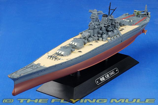 EG-WW0001 Eaglemoss Yamato-class Battleship Diecast Model ...