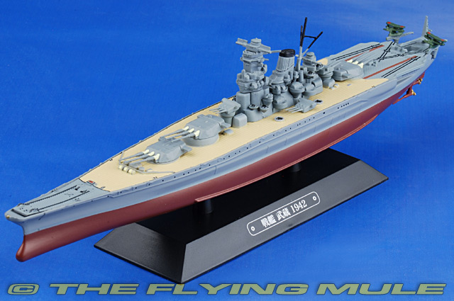 Yamato-class Battleship 1:1100 Diecast Model - Eaglemoss EG