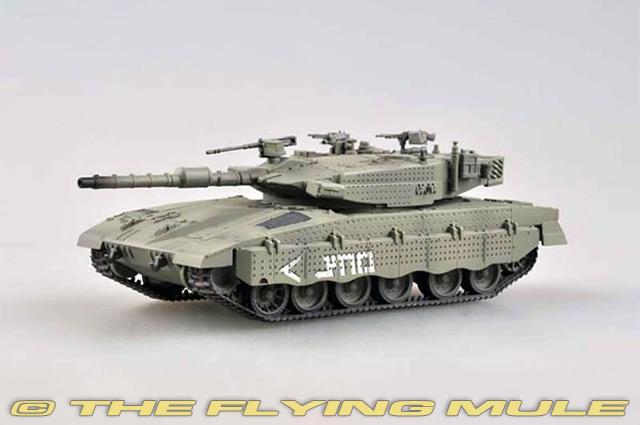 Merkava Mk 3 Israeli Main Battle Tank 1990 Year 1//72 Scale Model Lebanon War