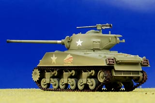 M4A3(76)W Sherman Display Model, US Army 4th Armored Div, 37th Tank Btn - MAY RE-STOCK