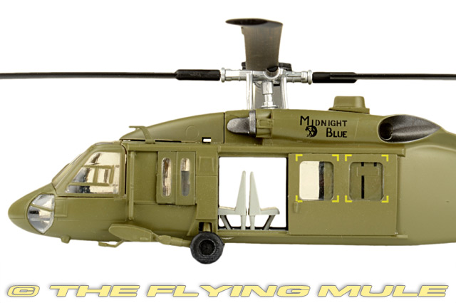 Easy Model 1//72 UH-60 Black Hawk Helicopter Midnight Blue US Army 101st