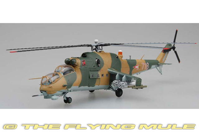 37037 Easy Model 1//72 Mi-24 RAF Helicopter Warcraft Aircraft Fighter  Finished