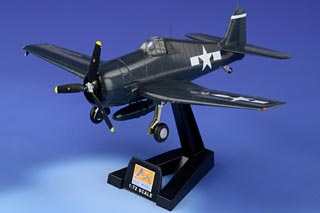 F6F Hellcat Display Model, USN, CAG David McCampbell, USS Essex, Pacific - OCT RE-STOCK
