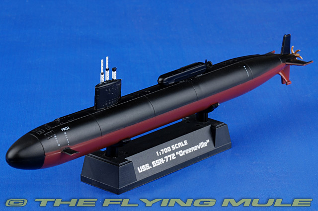 Los Angeles-class Submarine 1:700 Display Model - Easy Model