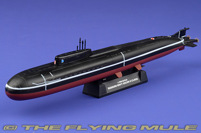 Oscar-II-class Submarine 1:700 Display Model - Easy Model EM