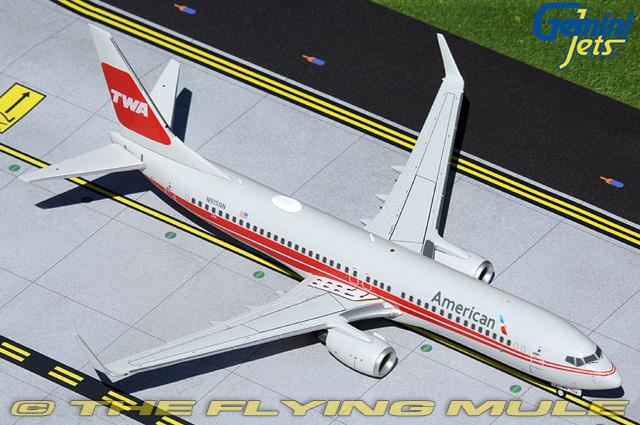GeminiJets 1:200 737-800 American Airlines N915NN