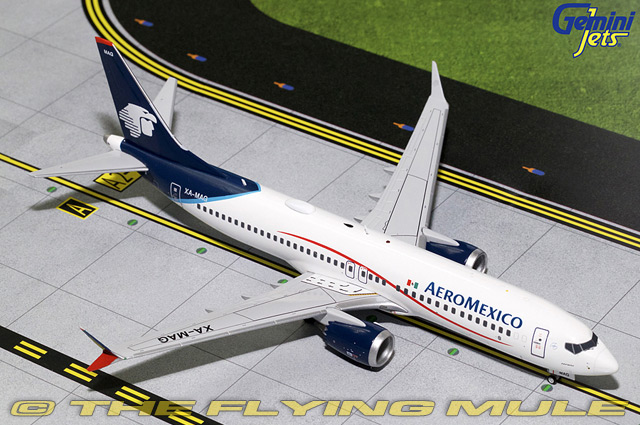 1 1 200 737 MAX 8 XA-MAG Aeromexico