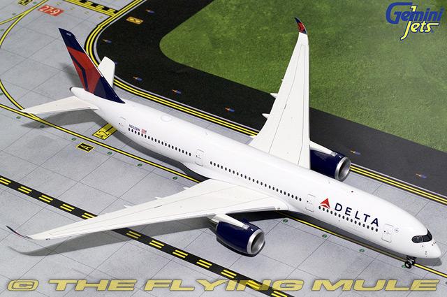 1 200 A350-900 N502DN Delta Air Lines