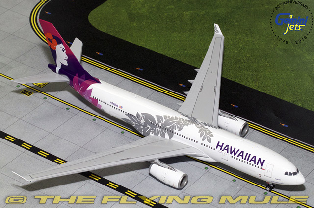 1 200 A330-200 N380HA Hawaiian Airlines