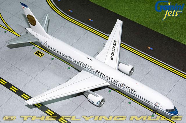 GeminiJets-1-200-757-200-Mexicana-N380RM-Retro-Livery