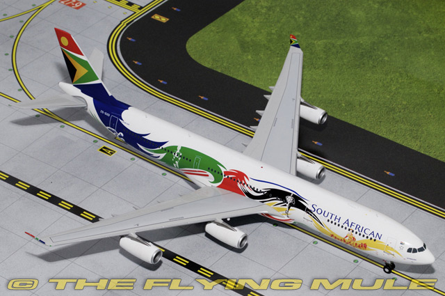 1:200 A340-300 ZS-SXD South African Airways