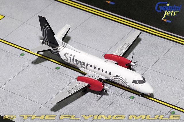 1 200 Saab 340 N344AG argent Air