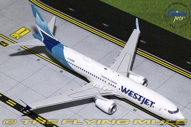 1 1 200 737 MAX 8 C-GZSG WestJet Airlines