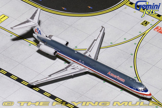 1 400 MD-80 N9621A American Airlines