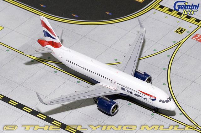 1 1 1 400 A320neo G-TTNA British Airways 82f35f