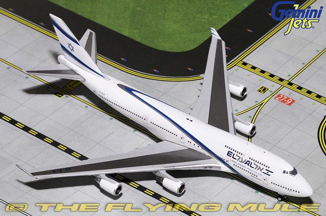 1 400 747-400 4X-ELB el al