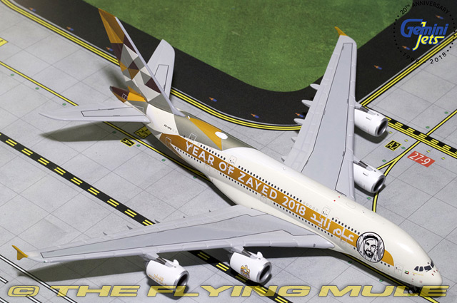 1 400 A380-800 Year of Zayed Etihad