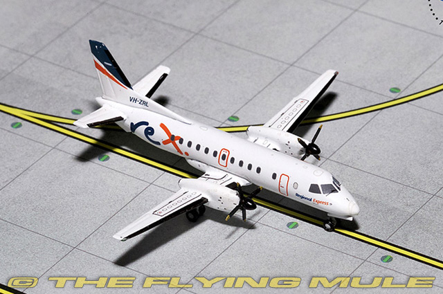 1 400 SAAB 340 VH-ZRL Regional Express Airlines
