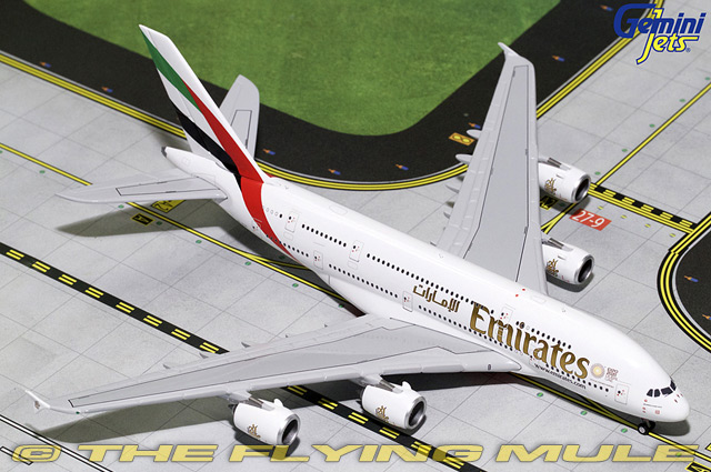 1 400 A380-800 A6-EUC Emirates Airlines
