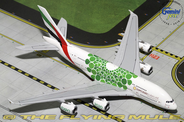1 400 A380-800 Expo 2020 Emirates Airlines