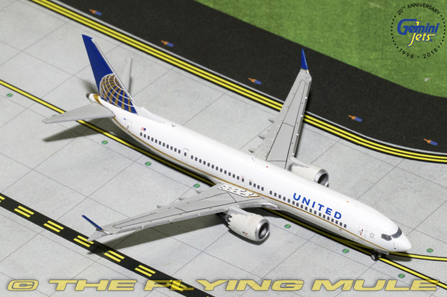 1 400 737 MAX 9 N67051 United Airlines