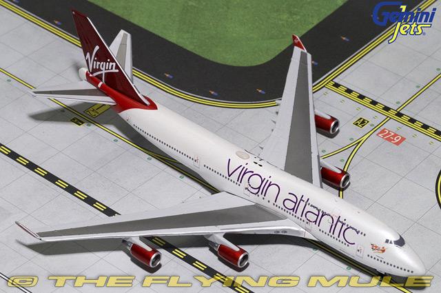 la red entera más baja 1 400 747-400 G-vbig G-vbig G-vbig Virgin Atlantic Airways  minorista de fitness