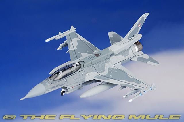Herpa Wings 550369 Polish Air Force Lockheed Martin f-16d blocco 52 6.elt NIB OVP